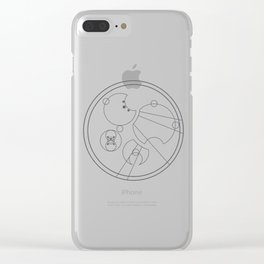 doctor who Clear iPhone Case