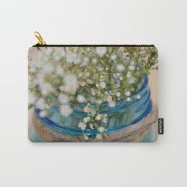 Jar Of Flowers Carry-All Pouch