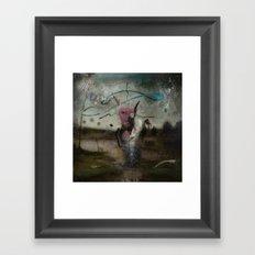 successful hunt Framed Art Print