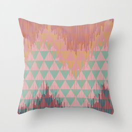 IKAT GEOMETRIE II Throw Pillow