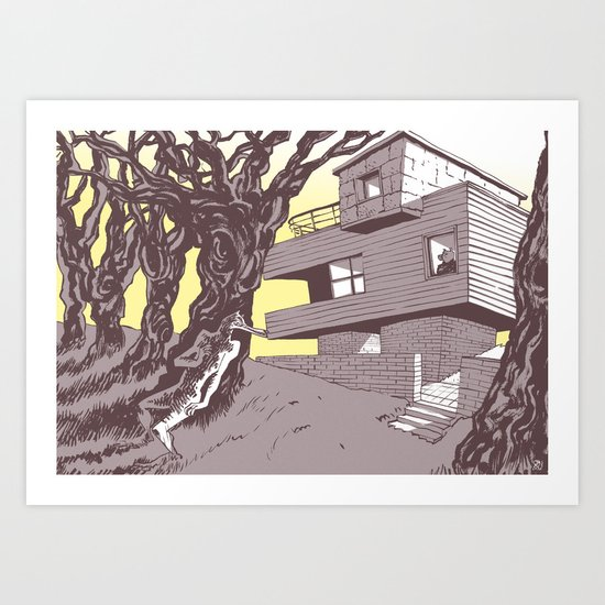 The house Art Print