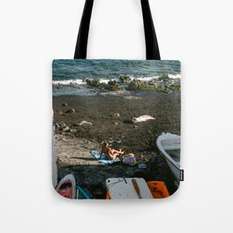 Afternoon sun at the beach in Gran Canaria | Travel photography Canary Islands, Spain - Europe  Tote Bag