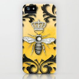 Damask Bee iPhone Case