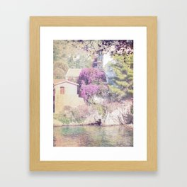 travel collection. Greece. Kefalonia Framed Art Print