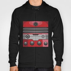 Dalek Red - Doctor Who Hoody