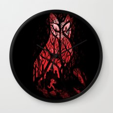 Mister Poe's Guilt Trip Wall Clock