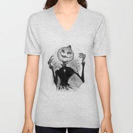Sketchy Scarecrow Unisex V-Neck