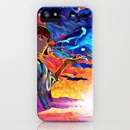 Colorful River Spirit iPhone Case