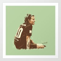 cyrilliart Art Prints featuring Louis #5 by Cyrilliart