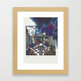 The Hallway Framed Art Print