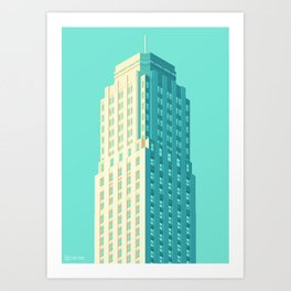San Francisco Towers - 04 - Central Tower Art Print