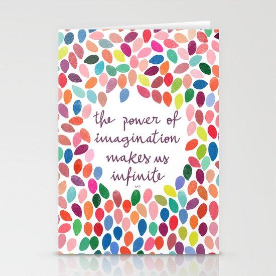 Imagination by Anna Carol & Garima Dhawan Stationery Cards