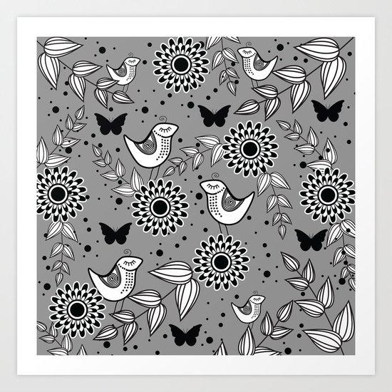 Pattern O Art Print