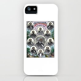 Distinguished Colored Men iPhone Case