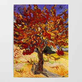 Vincent Van Gogh Mulberry Tree Poster