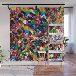 Candy Six Wall Mural