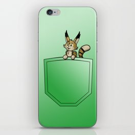 Pocket Yuki iPhone Skin