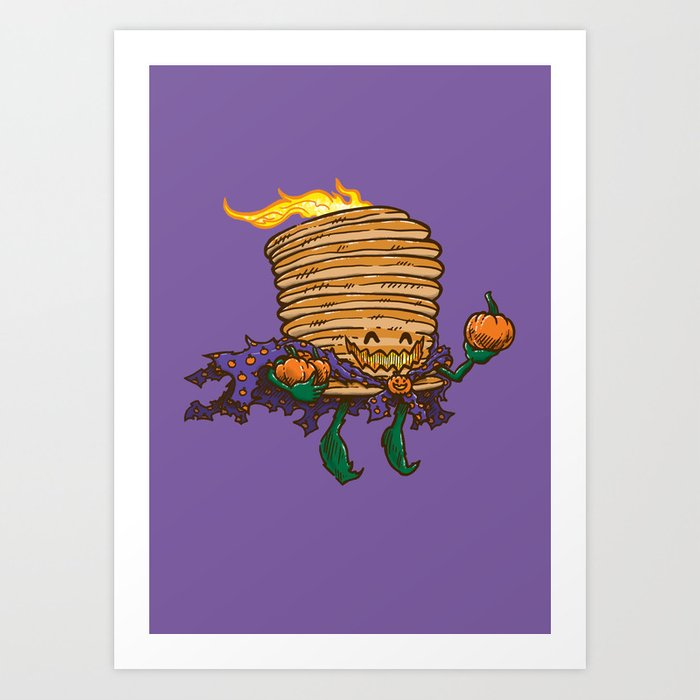 Captain Scarecakes Art Print