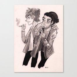 Got a Problem Mate? Canvas Print