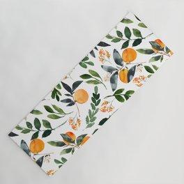 Orange Grove Yoga Mat