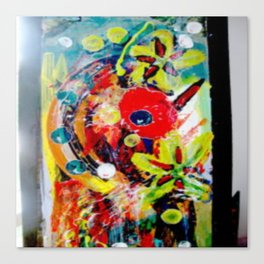 Booming Reds Canvas Print