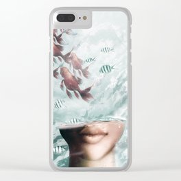 Out Of My Mind Clear iPhone Case