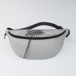black and white daisy Fanny Pack