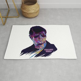 SYLVESTER STALLONE: BAD ACTORS Rug