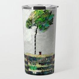 the story of green trees Travel Mug