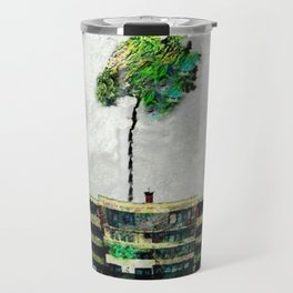 the story of green trees Travel Mug