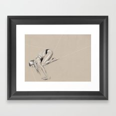 Yoga 1 Framed Art Print