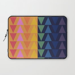 Day and Night Rainbow Triangles Laptop Sleeve