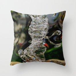 Water paint Art Throw Pillow