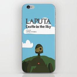 Laputa Castle in the Sky iPhone Skin