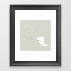The Happy Bubbles Framed Art Print