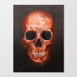 Street Skull Canvas Print