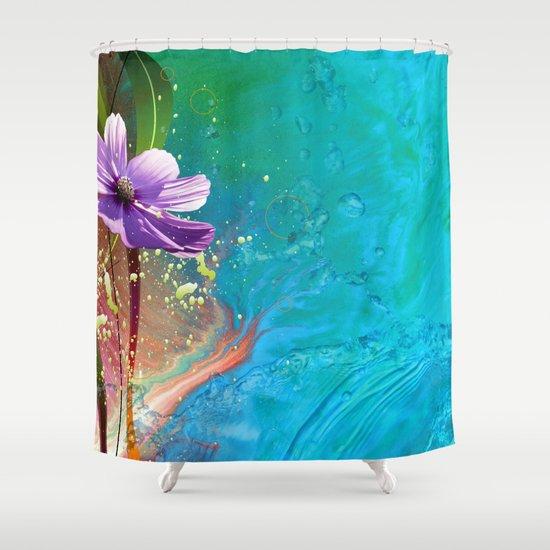 Anemone III Shower Curtain