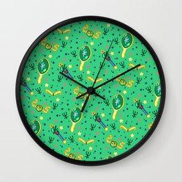 Sailor Neptune Pattern / Sailor Moon Wall Clock