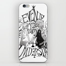 Right By Your Side iPhone Skin