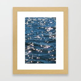 Water 01 Framed Art Print