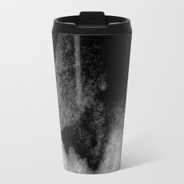 Textures (Black and White version) Travel Mug