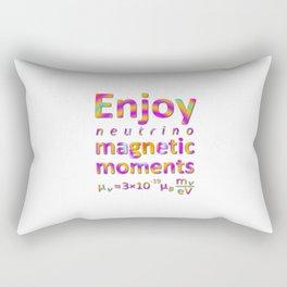Enjoy Neutrino Magnetic Moments Rectangular Pillow