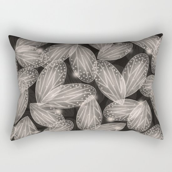 Fallen Fairy Wings - Silver Screen Edition Rectangular Pillow