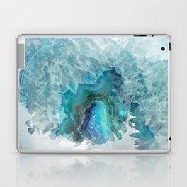 Blue Aqua Agate Laptop & iPad Skin