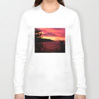big sur Long Sleeve T-shirts featuring Sunset * Big Sur, California by John Lyman Photos
