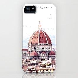 Brunelleschi's masterpiece iPhone Case