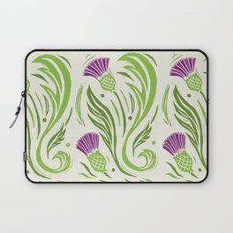 Thistles - Color Pattern Laptop Sleeve