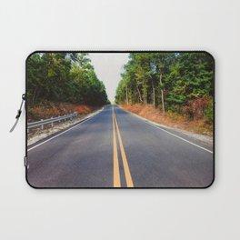 Empty road Laptop Sleeve