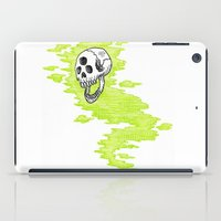 lv iPad Cases featuring Lv. 24 Skeletal Wisp by Creeps by Caleb