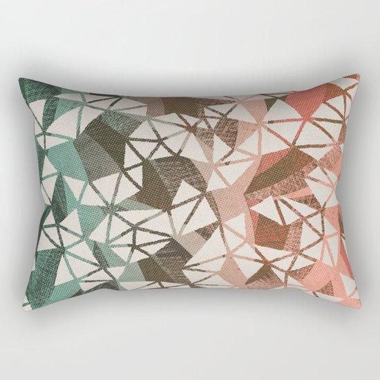 Geometry Jam Rectangular Pillow